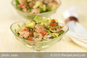 15 Minute Shrimp and Avocado Salad