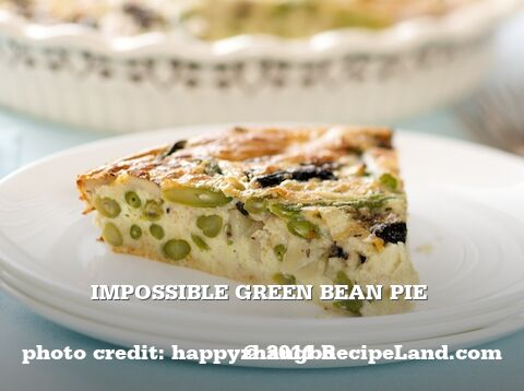 Impossible Green Bean Pie