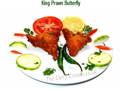 King Prawn Butterfly
