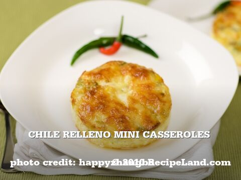 Chile Relleno Mini Casseroles