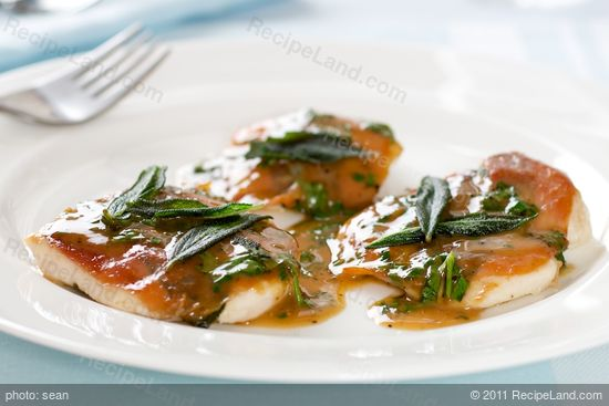Top with sauce and fried sage leaves if desired