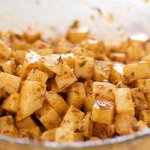 Parmesan, Paprika, and Herbs Roasted Potatoes
