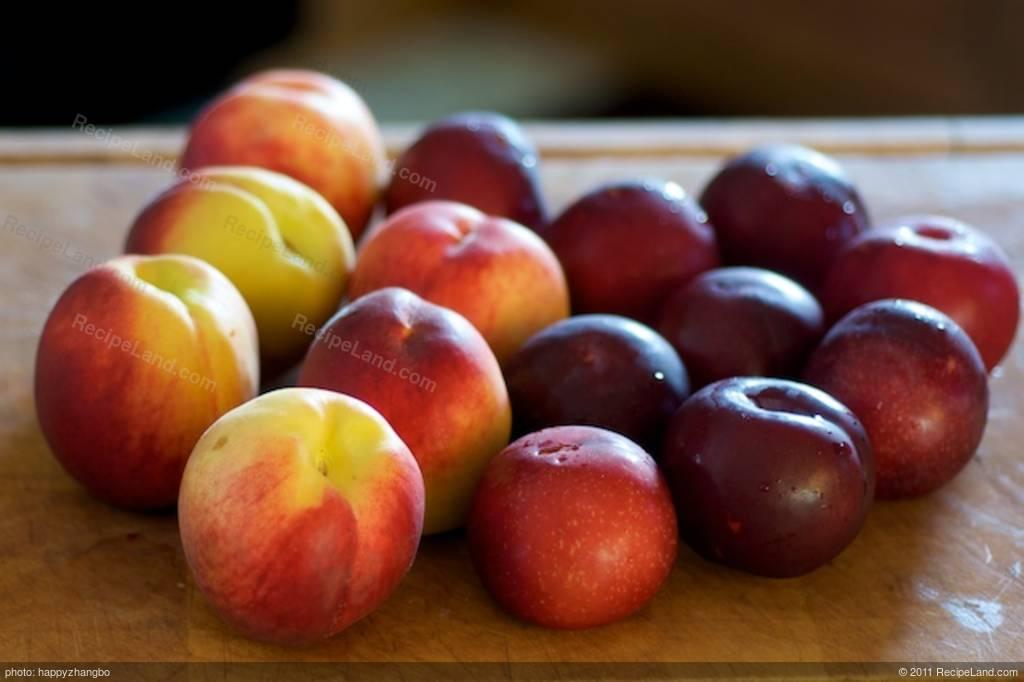 Fresh Peach and Plum Tart Recipe
