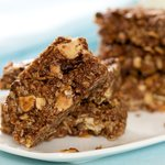 Double Almond and Chocolate Granola Bars