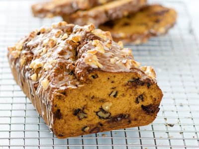 Chocolate Chip, Walnuts and Pumpkin (Squash) Bread