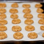 Almond Thumbprint Cookies (Low Fat, Low Calorie)