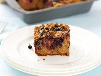 Mixed Berry Coffee Cake