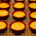 Brown Sugar Cornbread Muffins