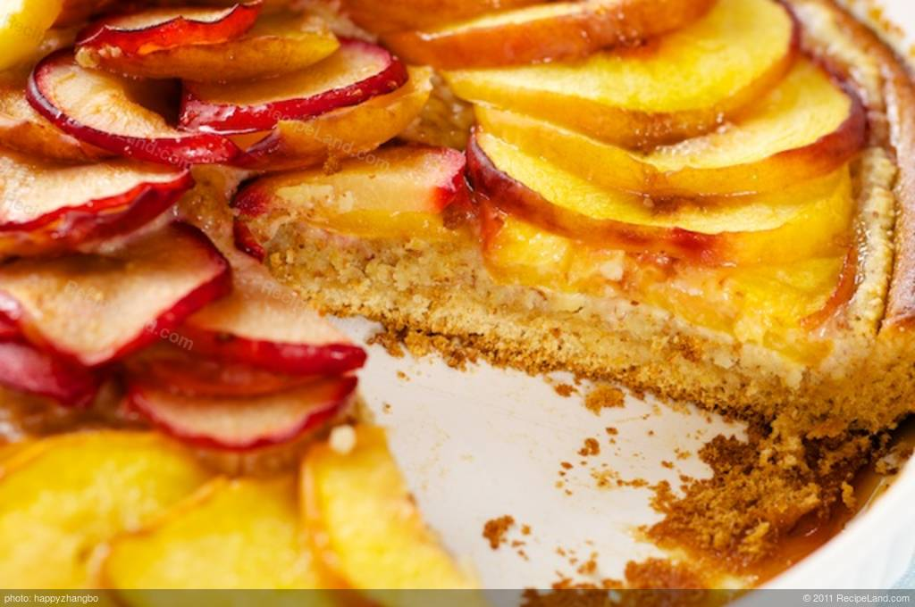 fresh stone fruits nutty almond and pure maple syrup make this ...
