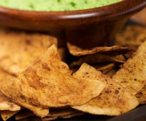 Chili Lime Tortilla Chips (home-made)
