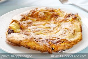 Apfelpfannkuchen (German Apple Pancakes)