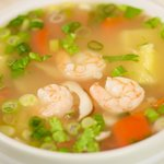 Pineapple and Shrimp Tom Yum Soup
