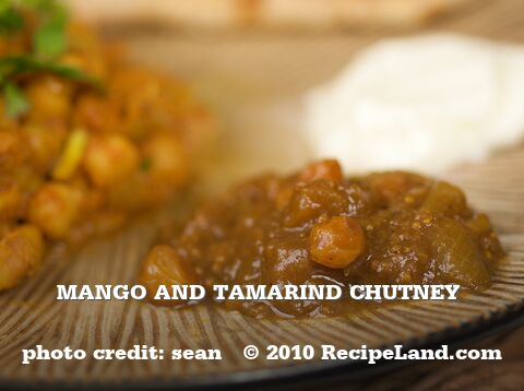 Mango and Tamarind Chutney