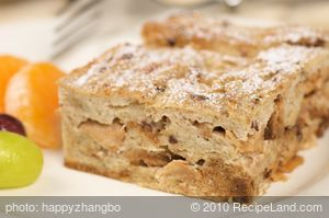 Baked Spiced Apple French Toast