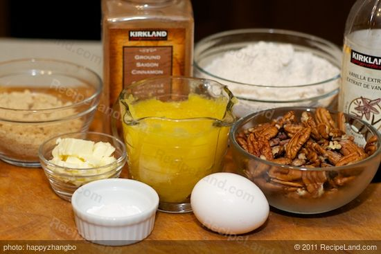 First gather together these ingredients to make the batter.