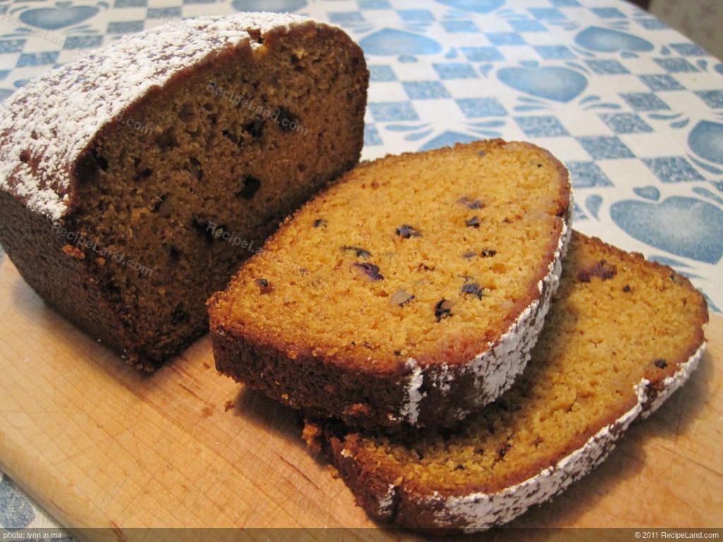 Easy Pumpkin Bread Recipe Recipeland Com
