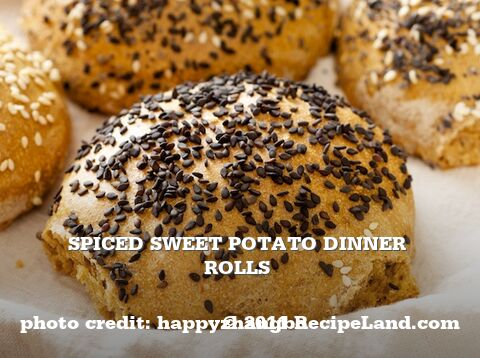 Spiced Sweet Potato Dinner Rolls