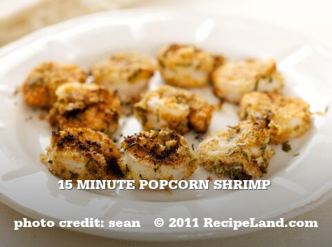15 Minute Popcorn Shrimp