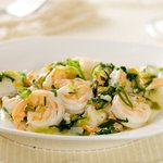 Garlicky Shrimp Scampi