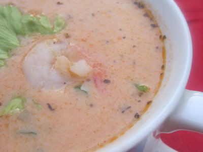 Shrimp Bisque Orleans