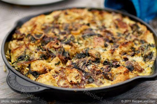 Feta, Ricotta and Swiss Chard Frittata recipe