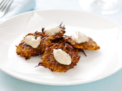 Sweet-Potato Fritters