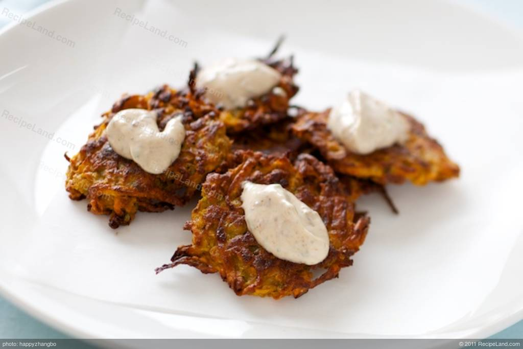how to cook potato fritters