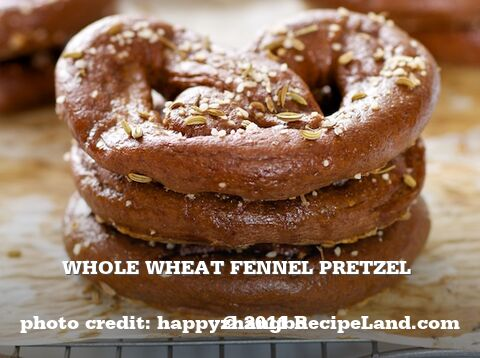 Whole Wheat Fennel Pretzel