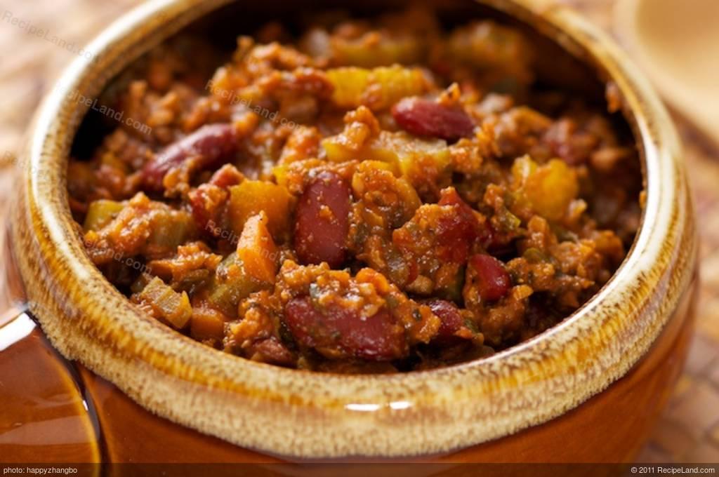 Tvp Chili Recipe Recipeland Com