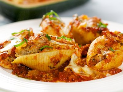 Beef Stuffed Shells