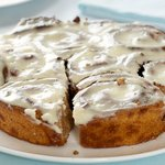 Cinnamon Buns with Cream Cheese and Maple Glaze