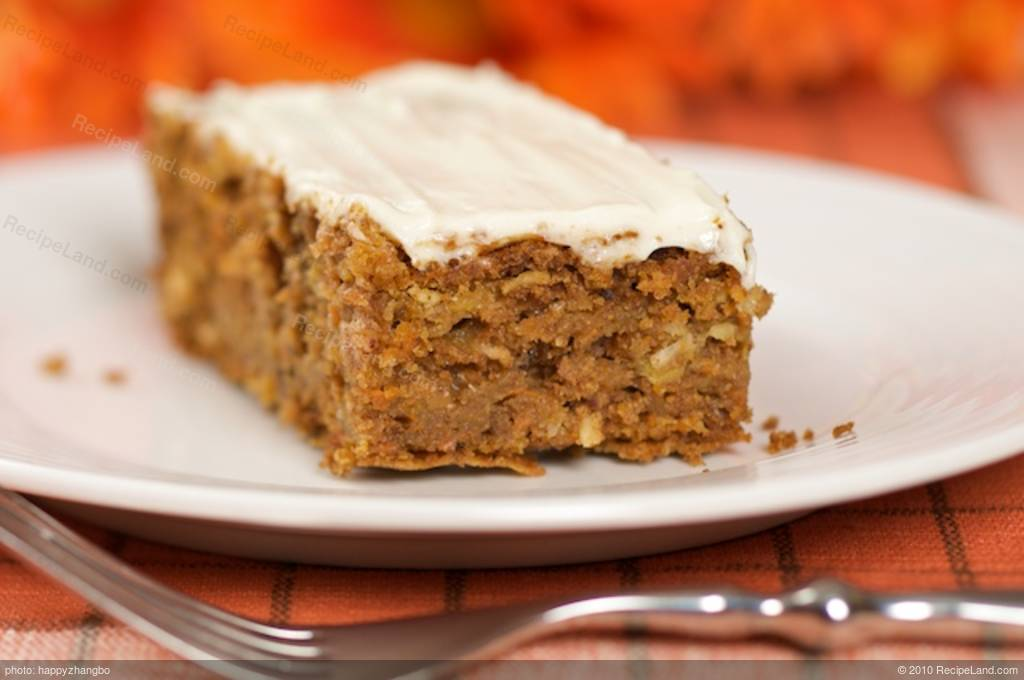 Low Fat Celebration Cake Recipes: Carrot Cake (low-fat) Recipe
