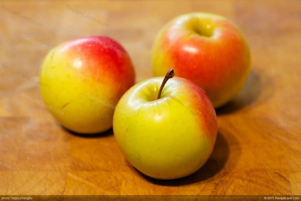 Recipe Fresh Apple Cake With Cream Cheese Center