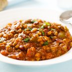 Kidney Bean and Barley Chili