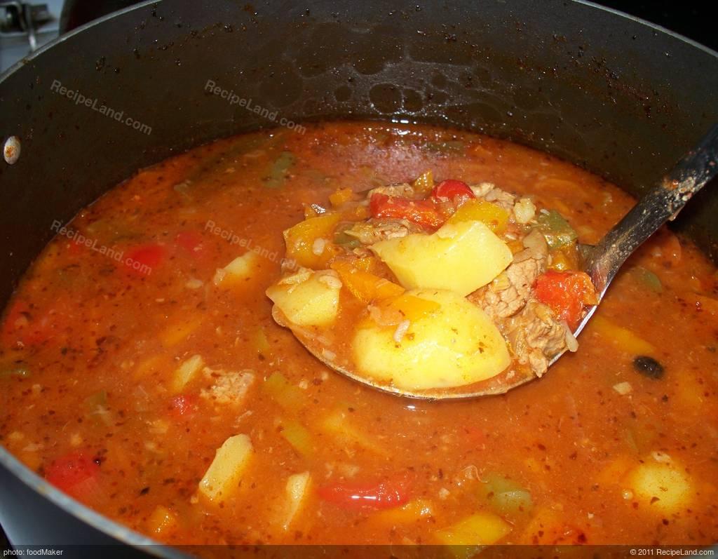 Beef Goulash Soup Recipe Recipeland Com
