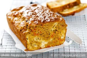 Easy Mozzarella, Sun-Dried Tomato and Pesto Quick Bread