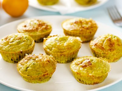 Bisquick Mini Veggie Quiches