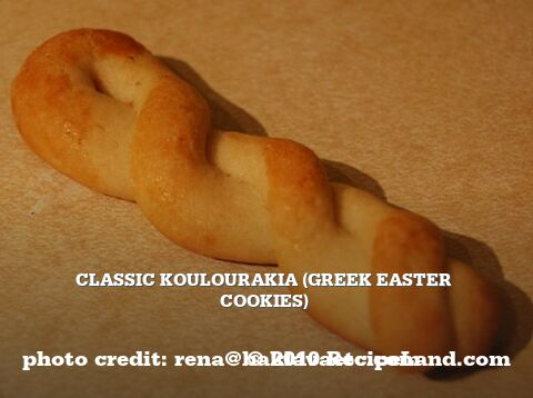Koulourakia (Greek Easter Cookies)