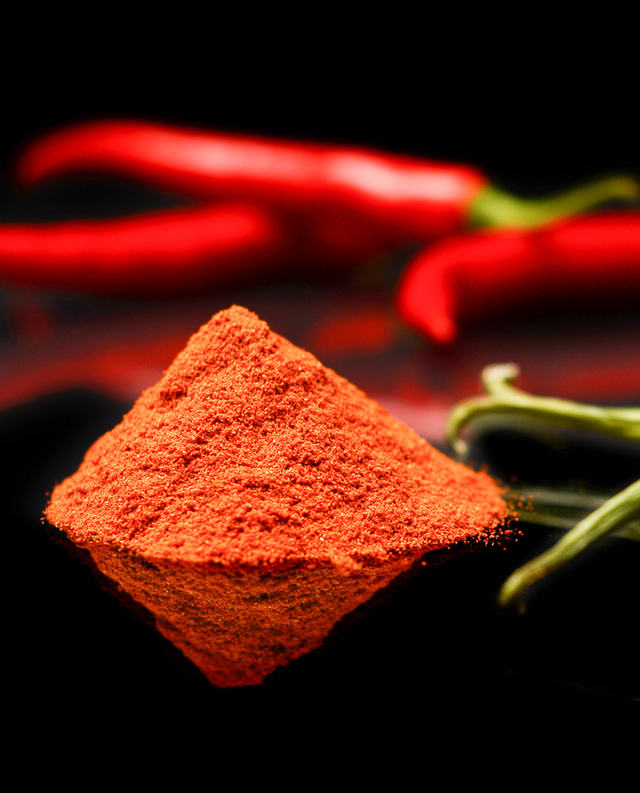 Cayenne pepper close-up
