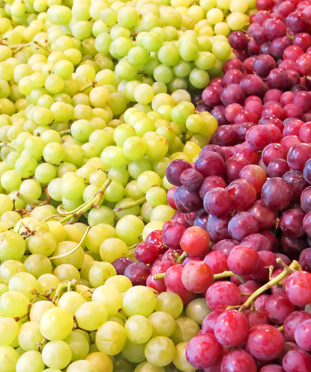 Grapes, Seedless: About, Nutrition Data, Where Found And