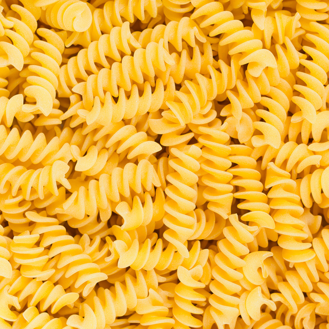 Pasta, rotini: nutrition data, where found and 52 recipes