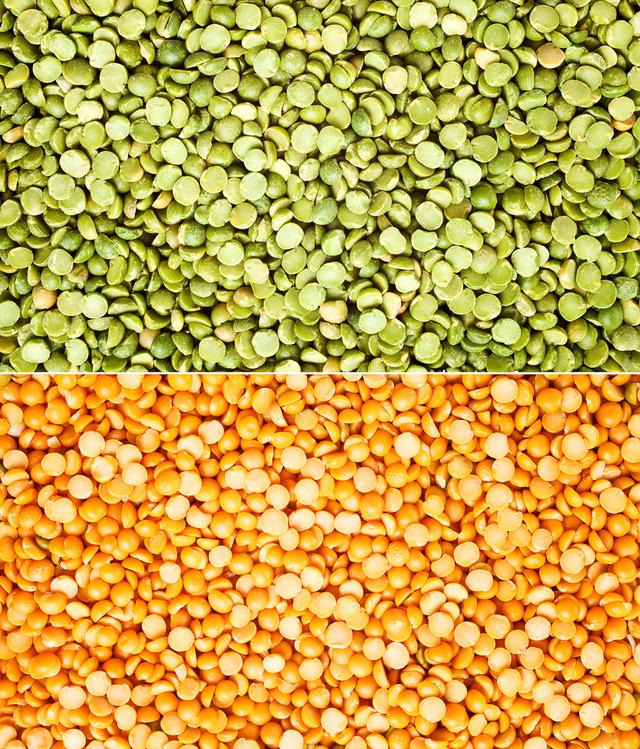 Split peas nutrition